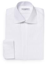 Tuxedo Pleated Dress Shirt