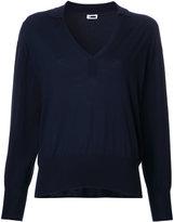 H Beauty&Youth V neck sweatshirt - women - Silk/Cotton - One Size