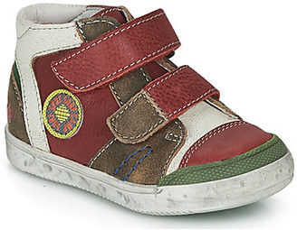 GBB MEDARD boys's Shoes (High-top Trainers) in Red