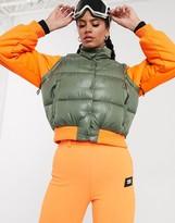 Asos 4505 4505 ski bomber jacket with detachable sleeves