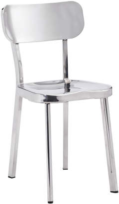 ZUO Mod Winter Stainless Steel Chair