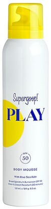 Supergoop! PLAY Body Mousse SPF 50 6.5oz.
