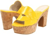 Nine West Gotya (Yellow Patent Synthetic) - Footwear