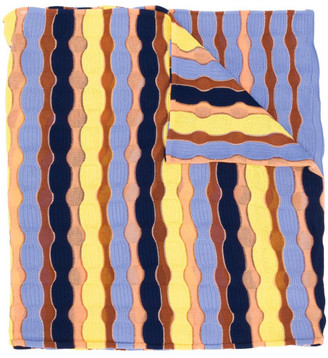 M Missoni Printed Cotton Scarf