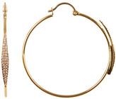 Vince Camuto Pave Hoop Earrings