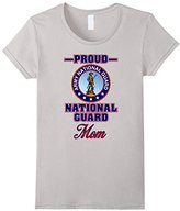 Women's Proud Army National Guard Mom T-Shirt Medium