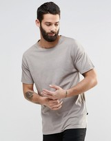 ONLY & SONS Crew Neck T-Shirt with Drop Shoulder Detail