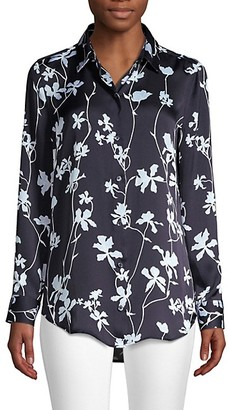 Equipment Essential Floral Print Blouse