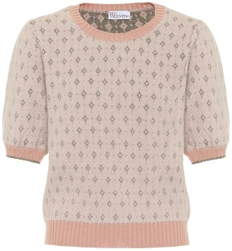 RED Valentino Angora-blend sweater
