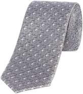 Kenneth Cole Hyatt Textured Jaquard Silk Tie