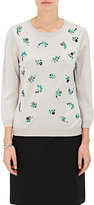 Nina Ricci WOMEN'S EMBELLISHED WOOL SWEATER