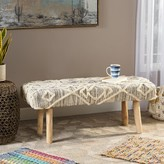 Bungalow Rose Lena Upholstered Bench