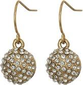 The Sak Fireball Batik Drop Earrings