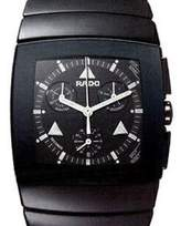 Rado Men's Ceramic Band & Case Sapphire Crystal Swiss Quartz Chronograph Watch R13764152