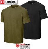 Under Armour Men's Tactical Shortsleeve Ua Tech T-Shirt Tops By Clear