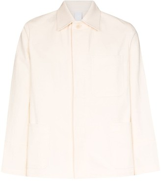 Dashiel Brahmann Single-Breasted Shirt Jacket