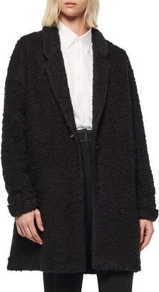 Andrew Marc Chatham Wool-Blend Boucle Cardigan Coat