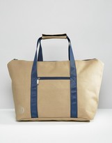 Mi-Pac Canvas Weekend Bag Stone