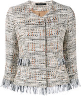 Tagliatore Milly tweed jacket - women - Cotton/Acrylic/Polyamide/Viscose - 38