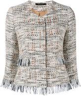 Tagliatore Milly tweed jacket - women - Cotton/Acrylic/Polyamide/Viscose - 46