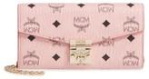 MCM Women's Patricia Visetos Canvas Wallet - Pink