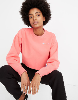 Madewell Champion Reverse Weave Cropped Sweatshirt