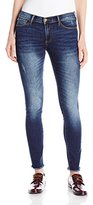Buffalo David Bitton Women's Faith Riviera Skinny Mid-Rise Raw Hem Jean