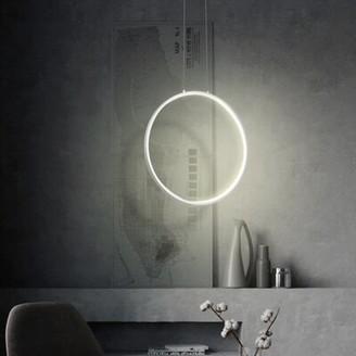 Orren Ellis Gunnulf 1 - Light Unique / Statement Geometric LED Chandelier