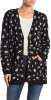 Democracy Leopard Printed Knit Cardigan