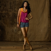 Denim & Supply Ralph Lauren Cropped Inset-Lace Camisole