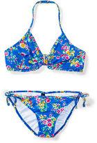 Ralph Lauren 7-16 Floral Two-Piece Swimsuit