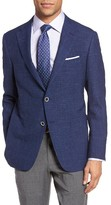 Hickey Freeman Men's Classic Fit Stretch Wool Blend Sport Coat