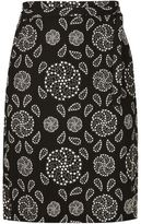 Ann Demeulemeester embroidered skirt