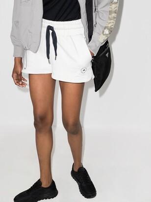 adidas by Stella McCartney Logo Print Training Shorts