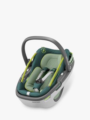 Maxi-Cosi Coral i-Size Group 0+ Baby Car Seat, Neon Green
