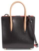 Christian Louboutin 'Small Paloma' Calfskin Leather Tote - Black