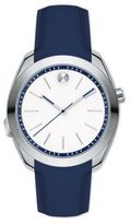 Movado Bold Motion Stainless Steel & Silicone Strap Smartwatch