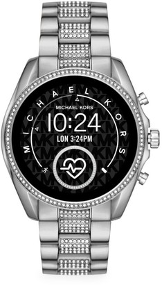 Michael Kors Access Bradshaw Pave Stainless Steel Bracelet Touchscreen Smart Watch