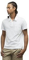 Kenneth Cole New York Men's Dressy Slub Polo Shirt