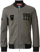 GUILD PRIME medal print bomber jacket