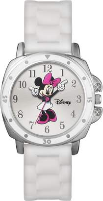 Lacoste Tu Disney Minnie Mouse White Dial & Silicone Strap Watch
