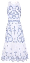 Tory Burch Mariana embroidered cotton dress