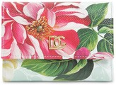 Dolce & Gabbana PRINTED LEATHER COMPACT WALLET
