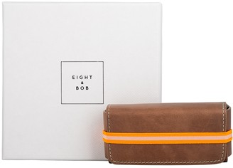 Eight & Bob Pearl Grey Leather Fragrance Case 30ml