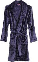Godsenen's Winter Fleece Bathrobes Sleepwear Robe