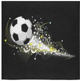 Soccer Ball Towel New Year/Christmas Gift Soccer Ball Art Thin Soft Towel(One-sided Printing)