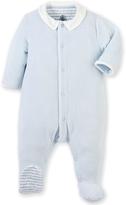 Petit Bateau Blue Velvet Sleepsuit