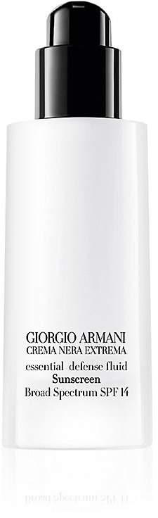 Giorgio Armani Women's Crema Nera Essential Defense Fluid SPF 14