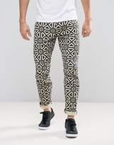 G Star G-Star 5622 X25 Pharrell Jeans Persian Geometric Print