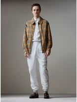 Burberry Vintage Check Gabardine Harrington Jacket , Size: 56, Yellow